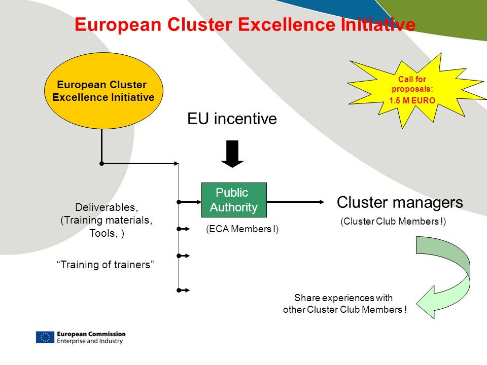 European Cluster Excellence Initiative Excellence Initiative