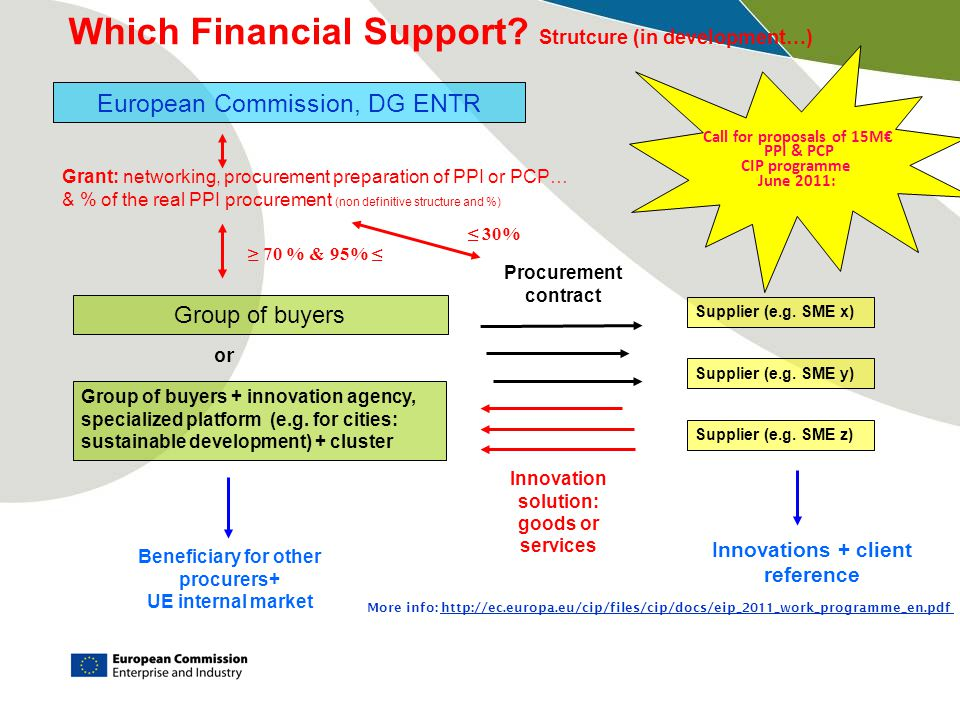 Which Financial Support Strutcure (in development…)