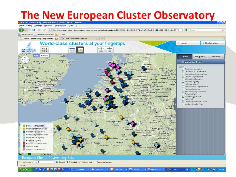 The New European Cluster Observatory