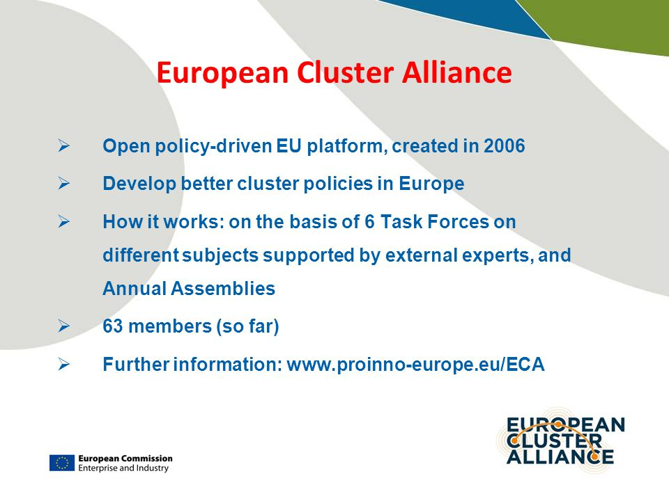 European Cluster Alliance