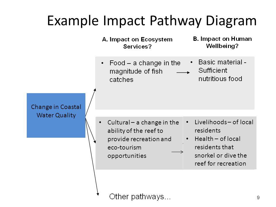 Example Impact Pathway Diagram