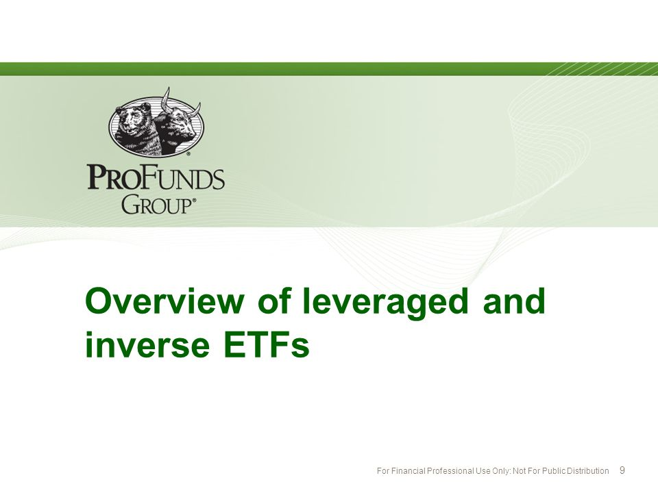 Overview of leveraged and inverse ETFs