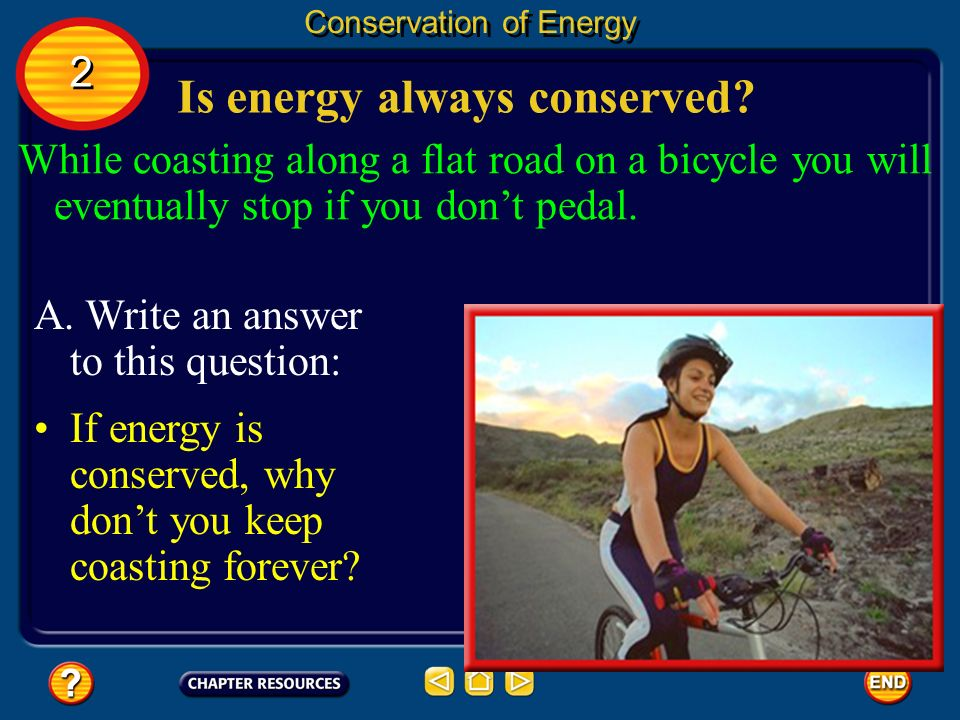 Is energy always conserved