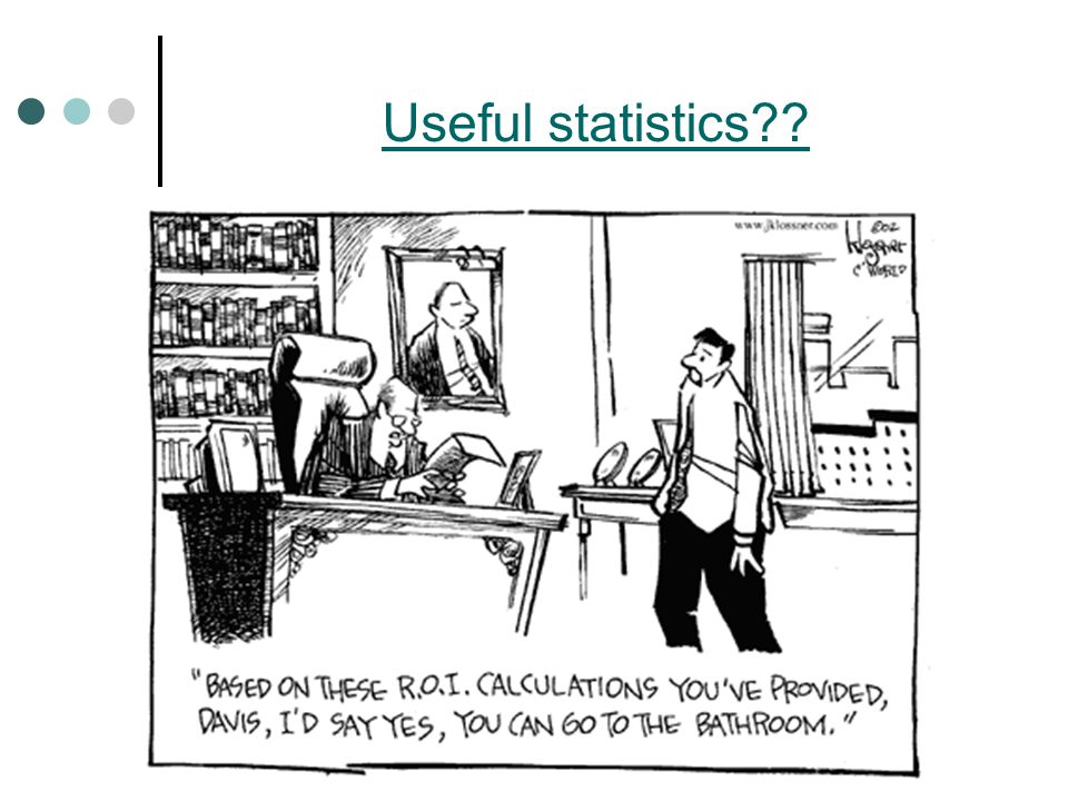 Useful statistics