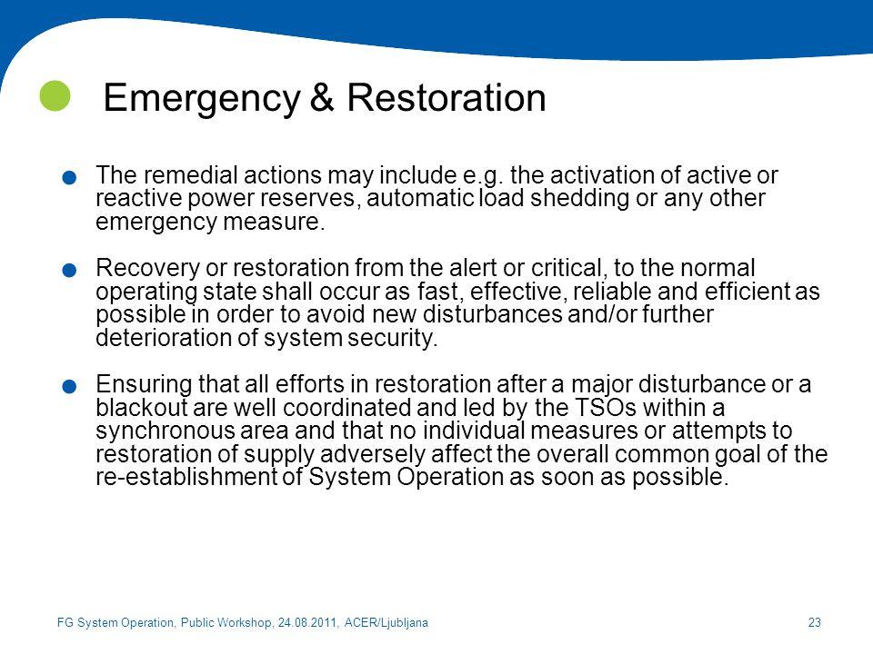 Emergency & Restoration