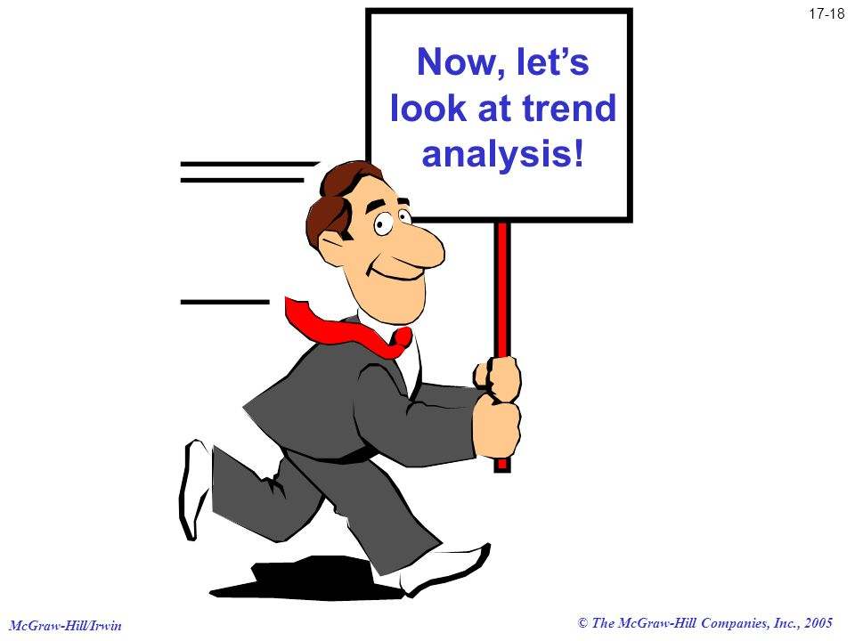 Now, let's look at trend analysis!