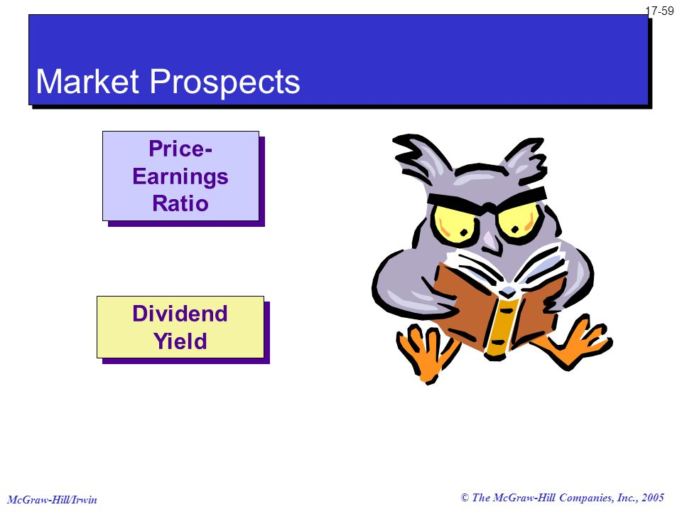 Market Prospects Price-Earnings Ratio Dividend Yield