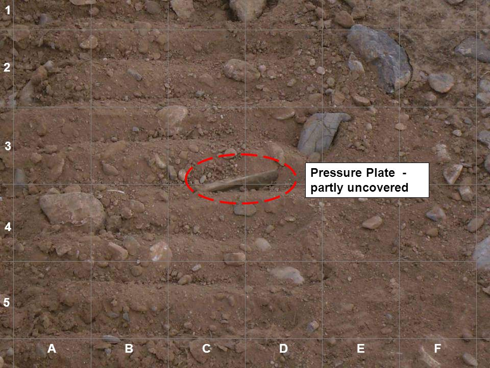 1 2 3 Pressure Plate - partly uncovered 4 5 A B C D E F A