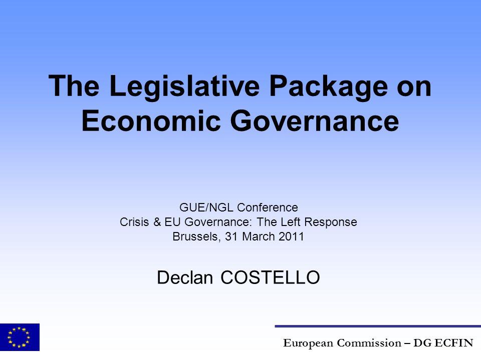 The Legislative Package on Economic Governance