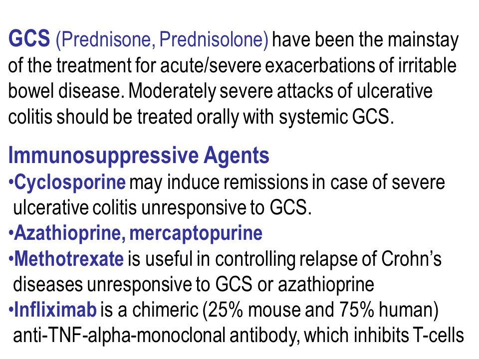 GCS (Prednisone, Prednisolone) have been the mainstay