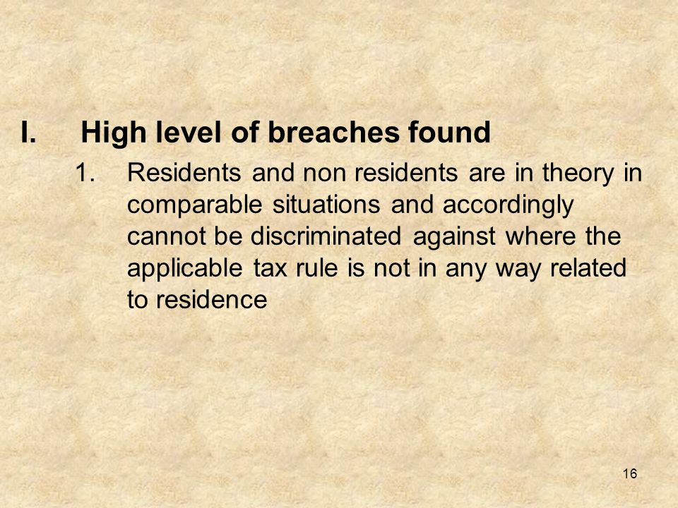 High level of breaches found