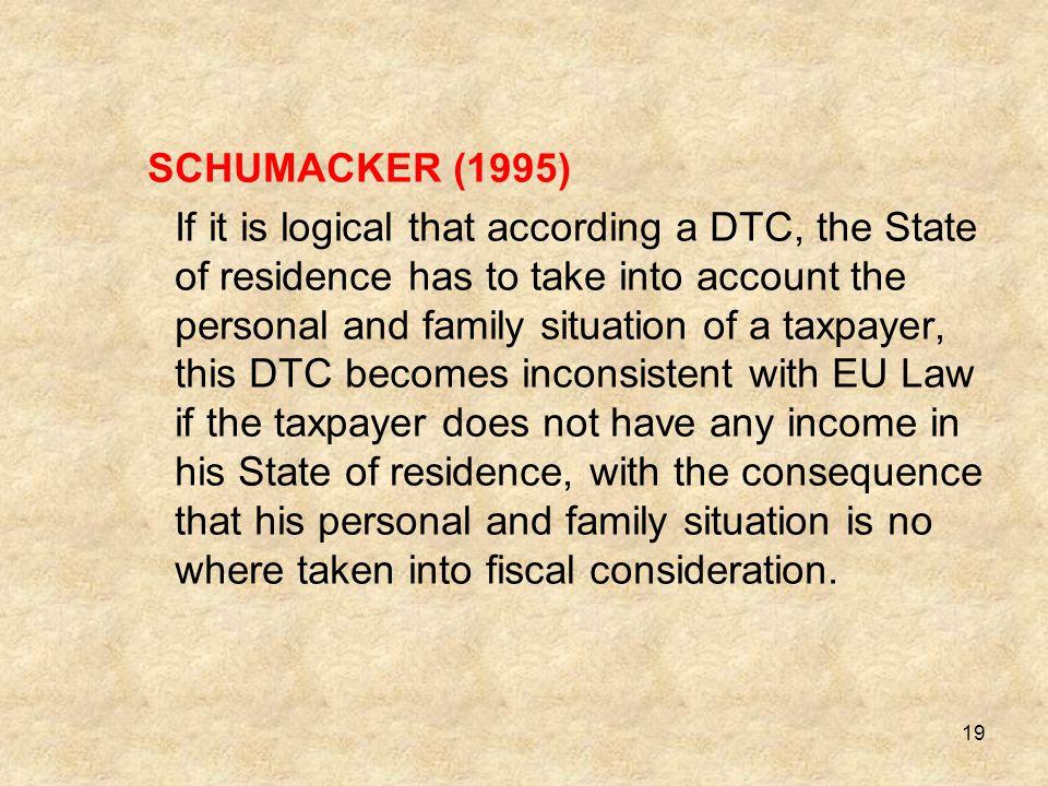 SCHUMACKER (1995)