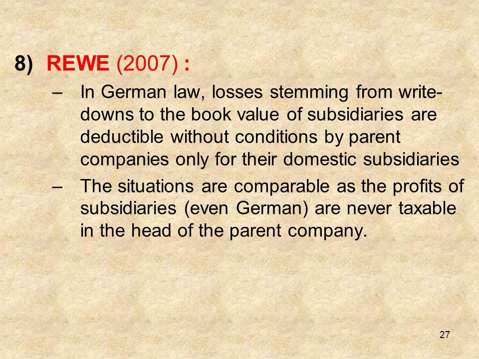 REWE (2007) :