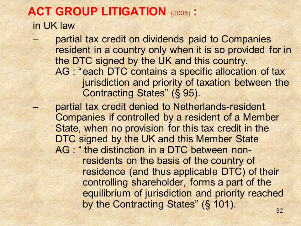 ACT GROUP LITIGATION (2006) :