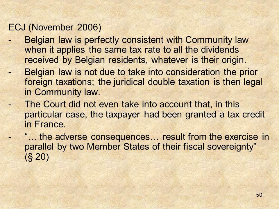 ECJ (November 2006)