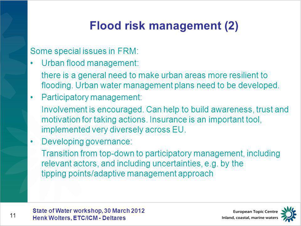 Flood risk management (2)