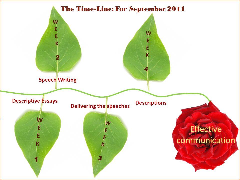 The Time-Line: For September 2011