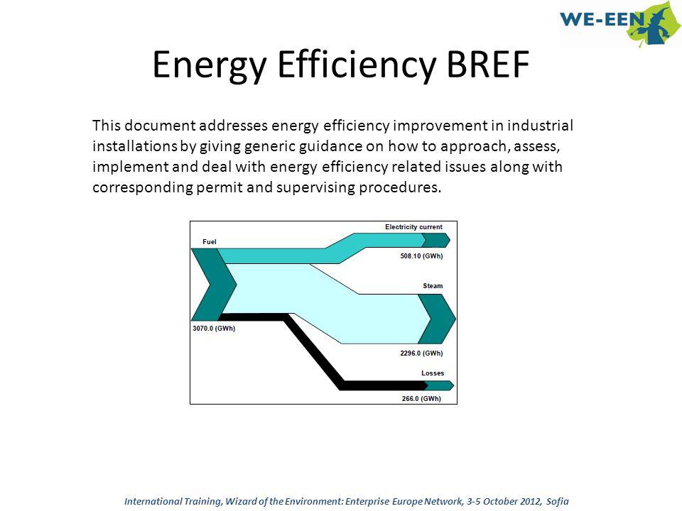 Energy Efficiency BREF