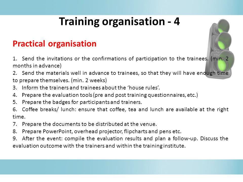 Training organisation - 4