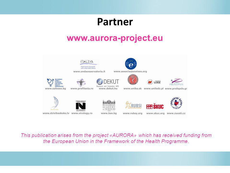 Partner www.aurora-project.eu