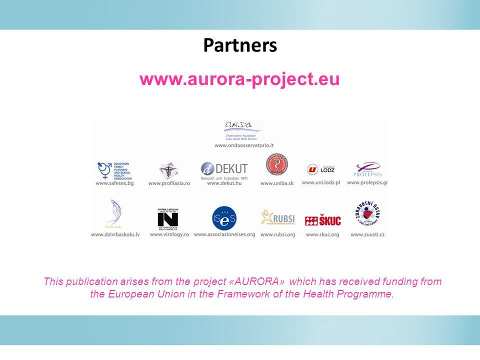 Partners www.aurora-project.eu