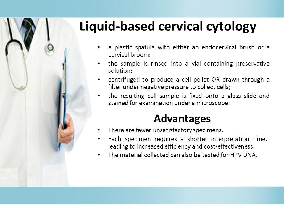 Liquid-based cervical cytology