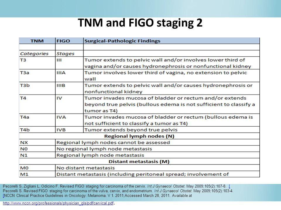 TNM and FIGO staging 2