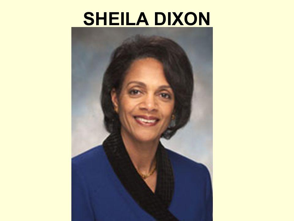 SHEILA DIXON