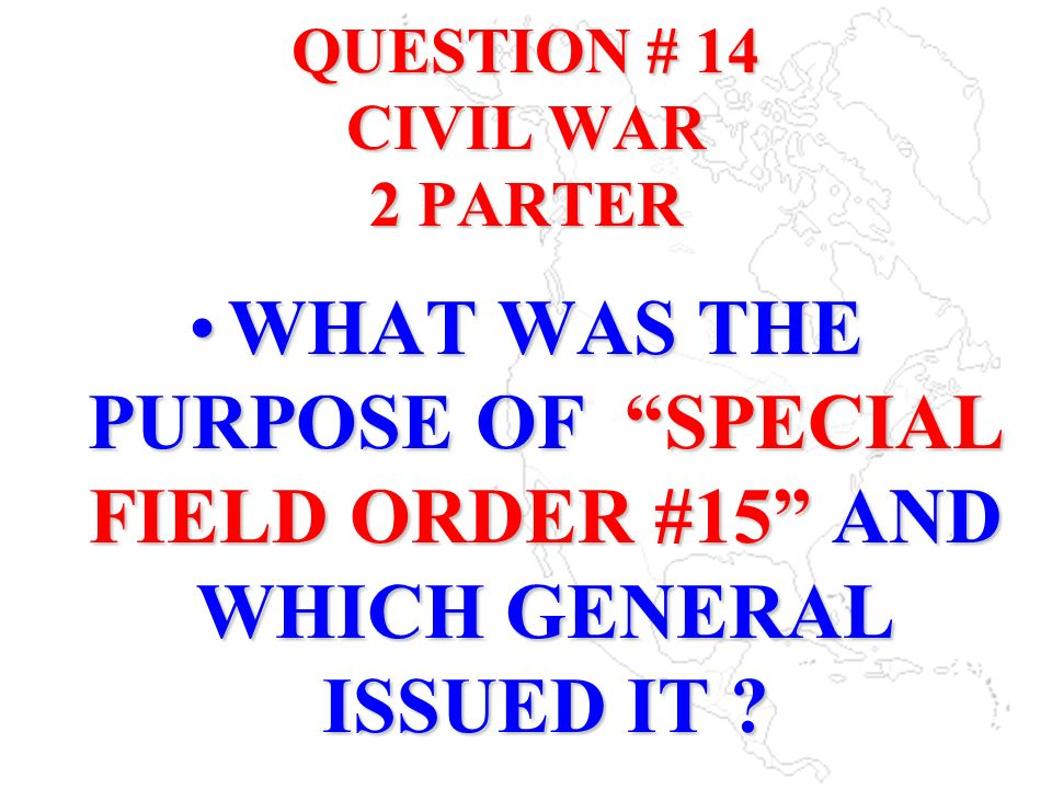 QUESTION # 14 CIVIL WAR 2 PARTER