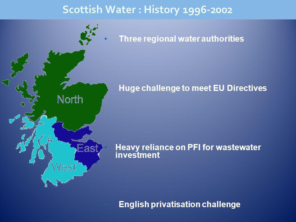 Scottish Water : History 1996-2002