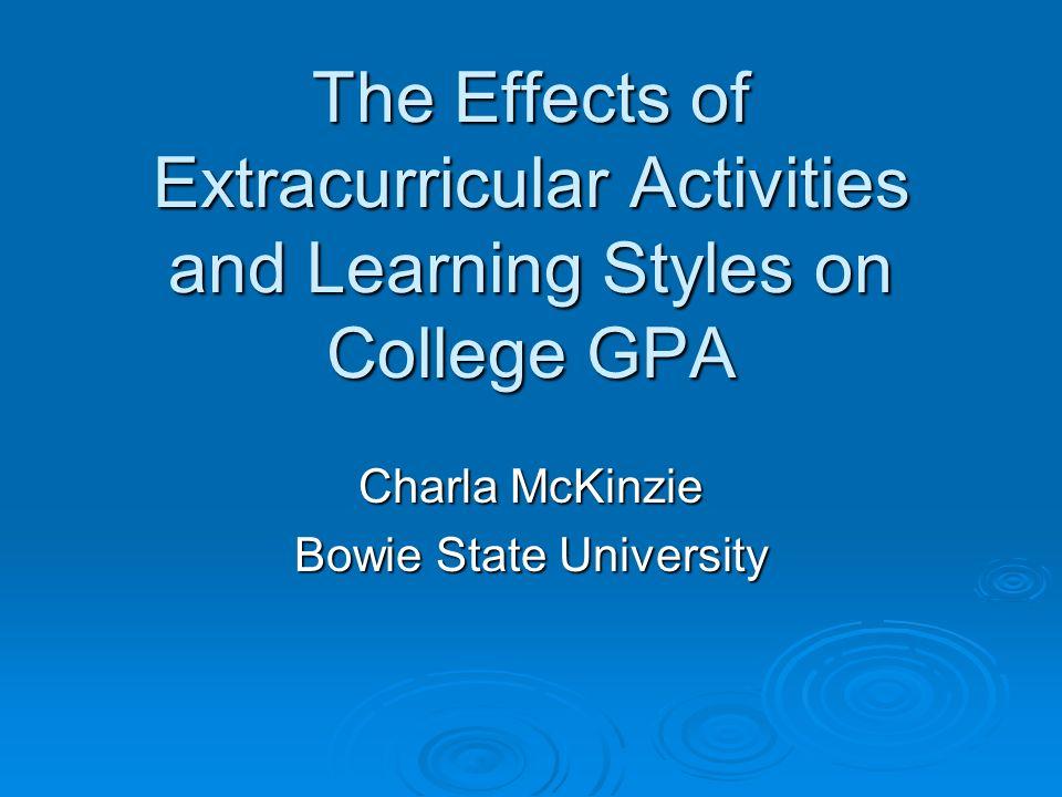 Charla McKinzie Bowie State University