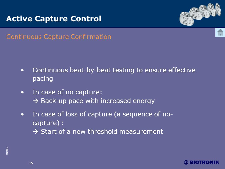 Active Capture Control