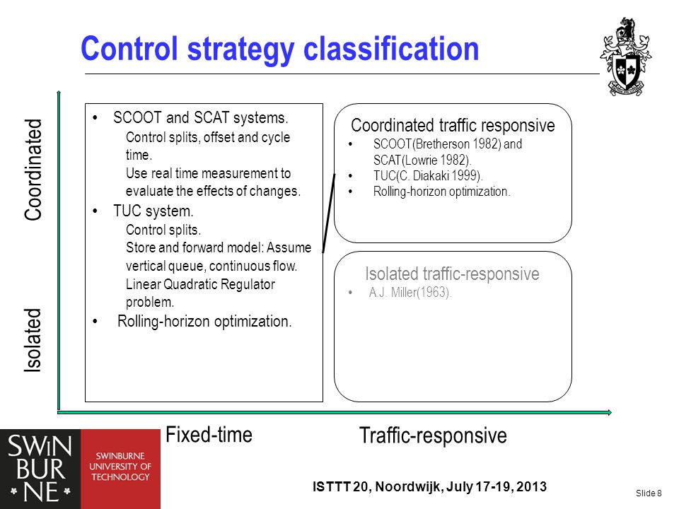 Control strategy classification
