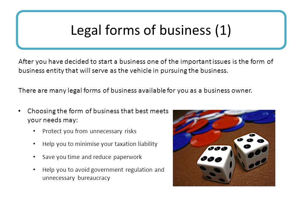 Legal forms of business (1)