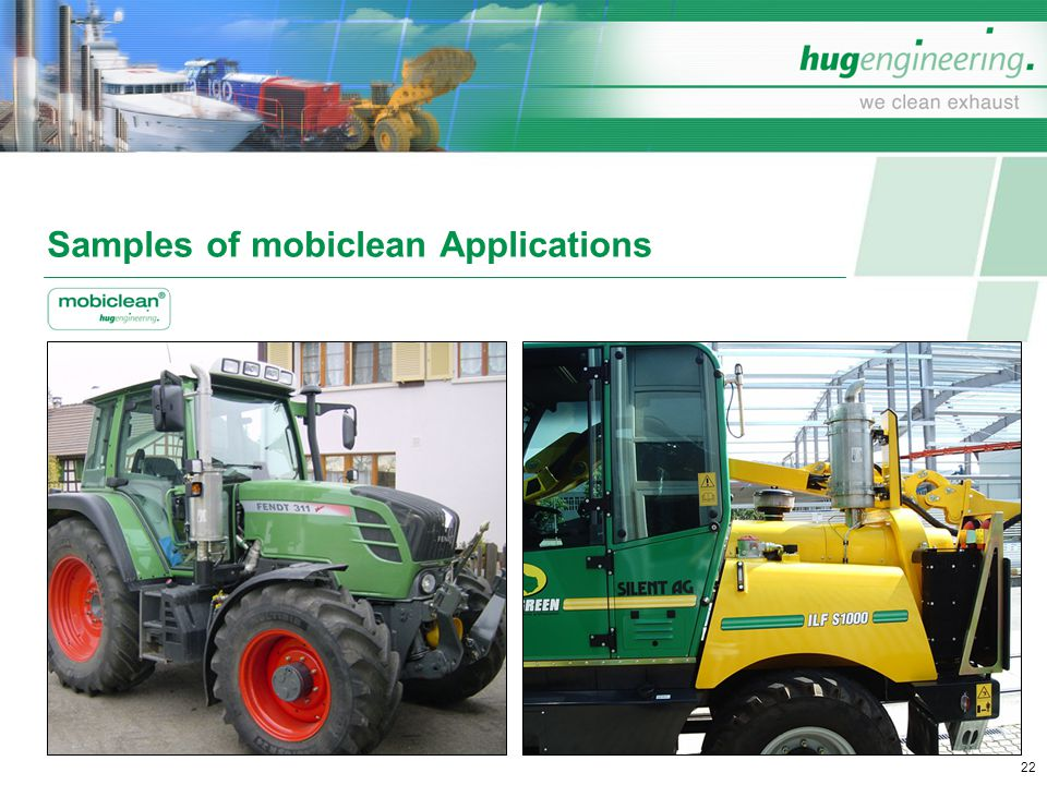 Samples of mobiclean Applications