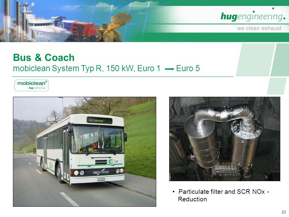 Bus & Coach mobiclean System Typ R, 150 kW, Euro 1 Euro 5