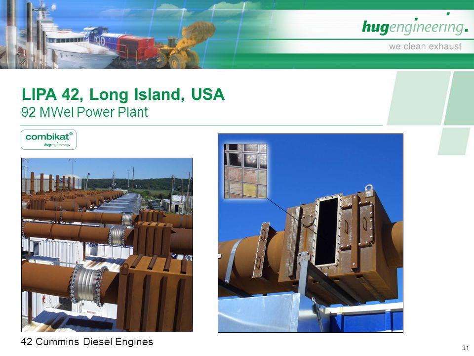 LIPA 42, Long Island, USA 92 MWel Power Plant