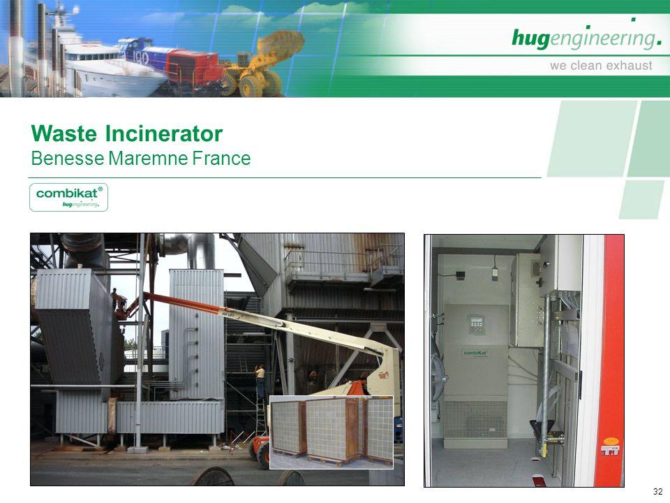 Waste Incinerator Benesse Maremne France