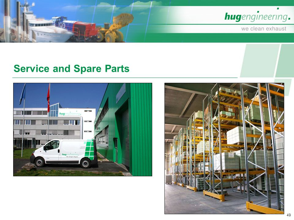 Service and Spare Parts