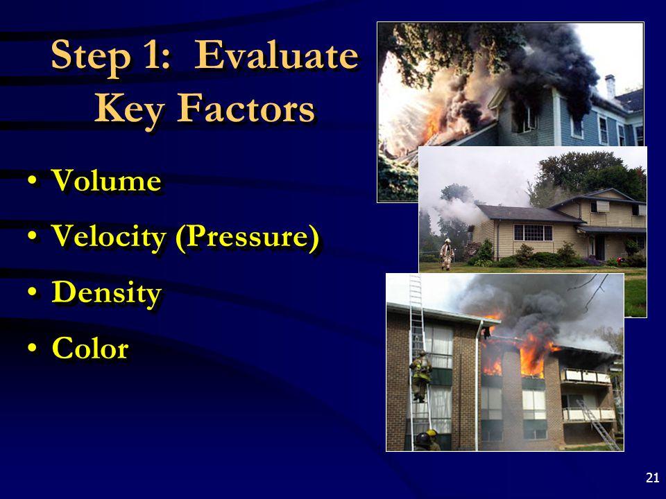 Step 1: Evaluate Key Factors