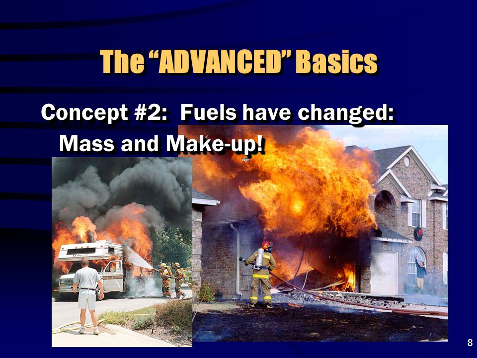 The ADVANCED Basics Concept #2: Fuels have changed: Mass and Make-up!