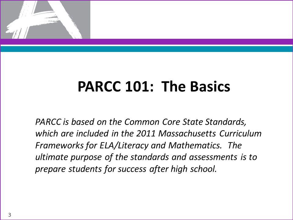 PARCC 101: The Basics