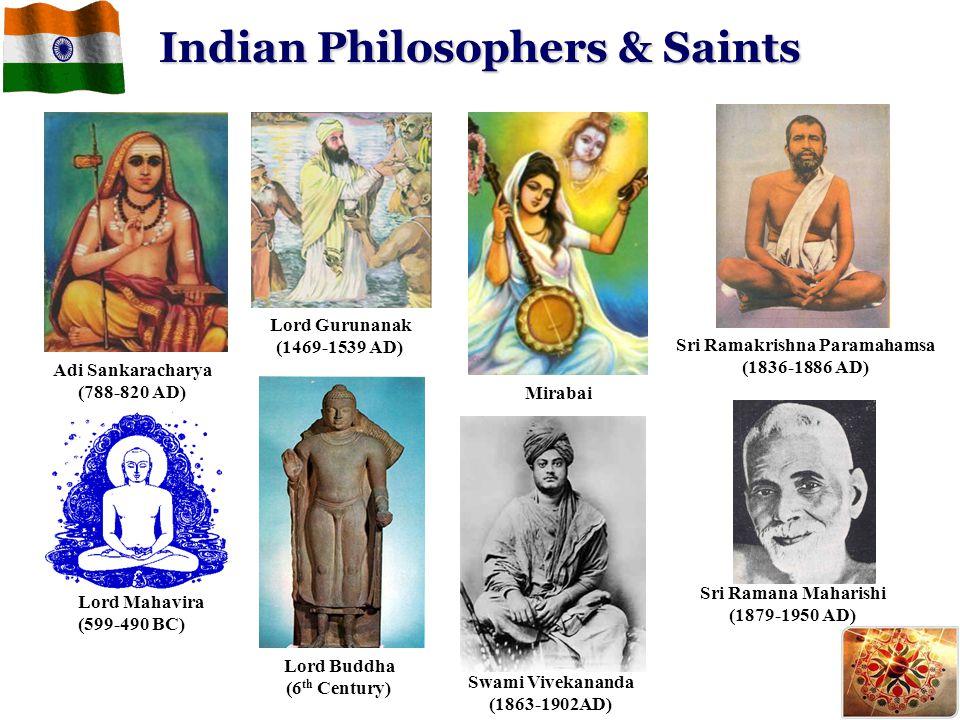 Indian Philosophers & Saints