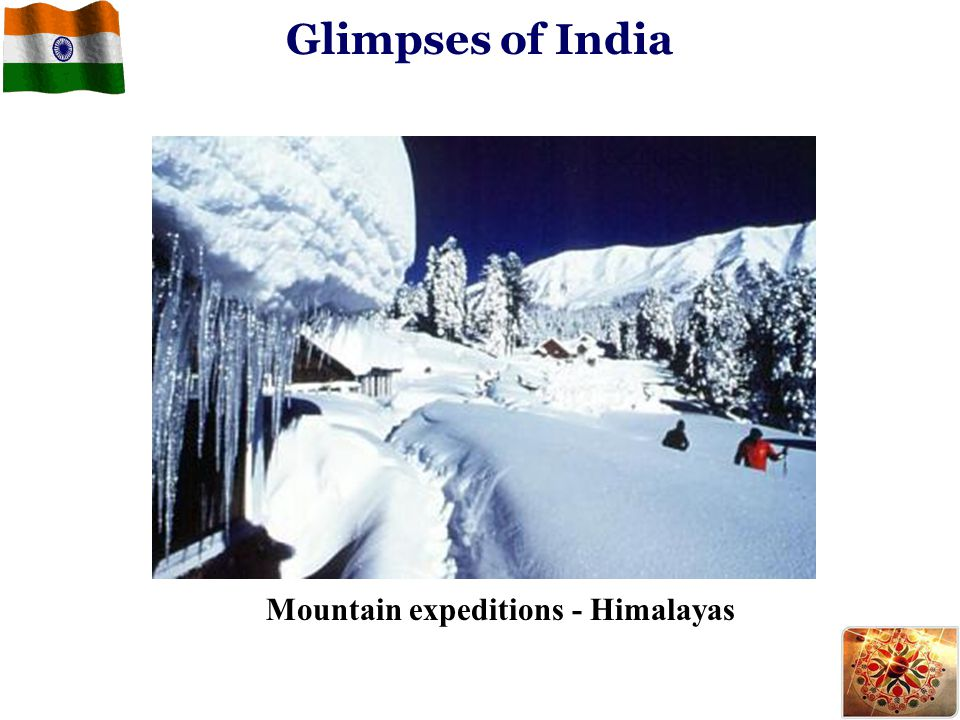 Glimpses of India Mountain expeditions - Himalayas