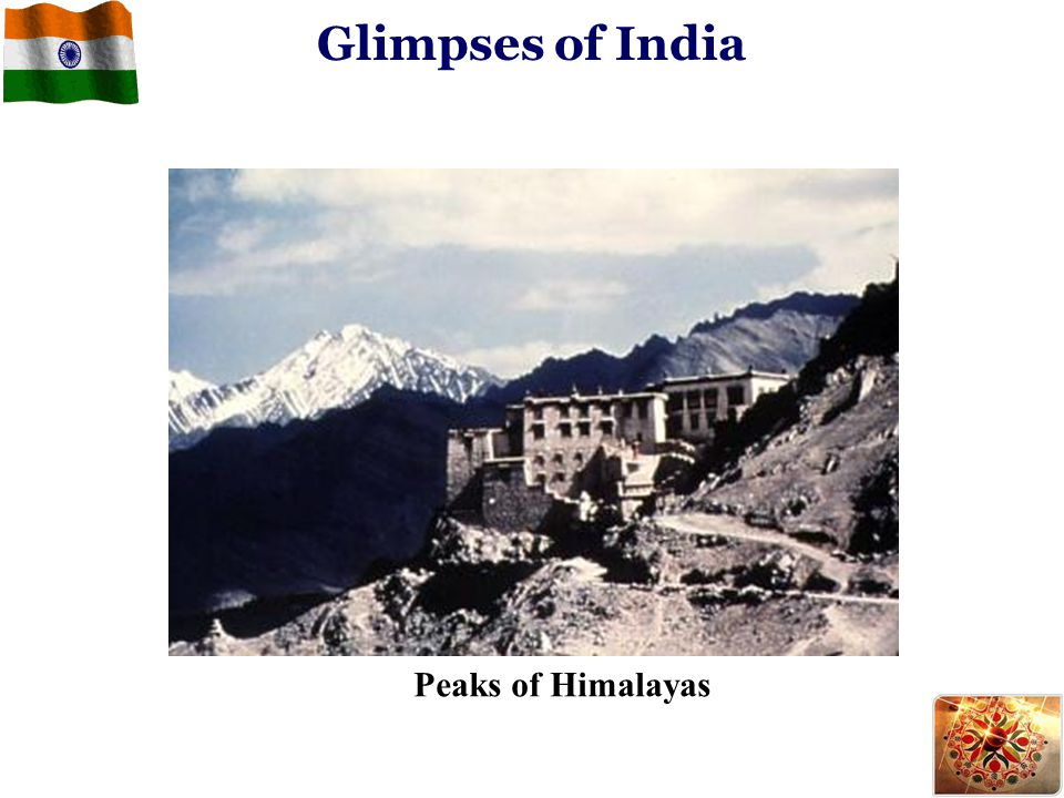 Glimpses of India Peaks of Himalayas