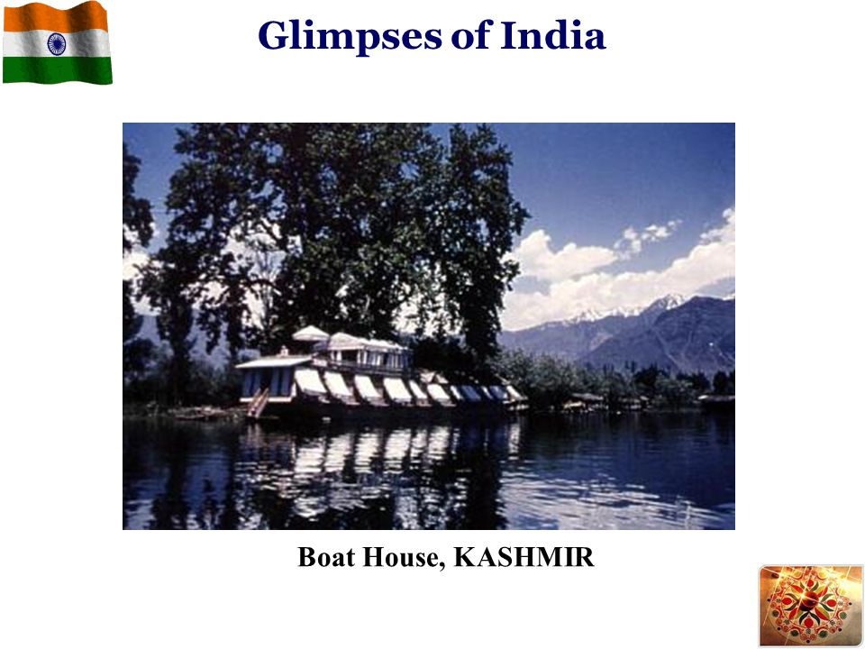 Glimpses of India Boat House, KASHMIR