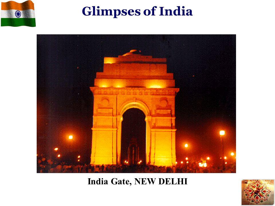Glimpses of India India Gate, NEW DELHI