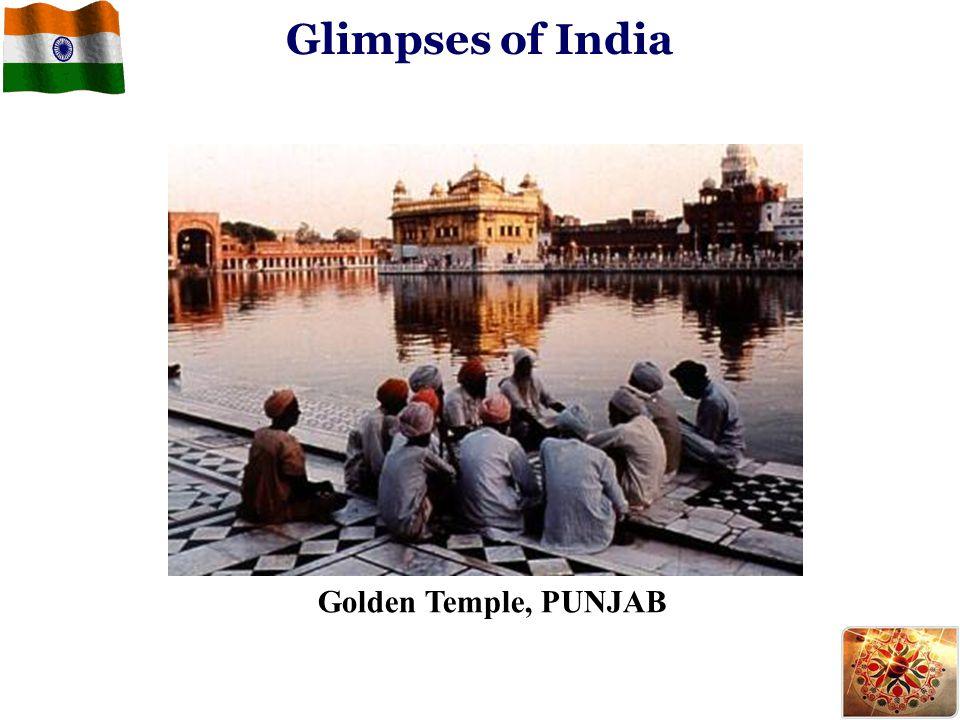 Glimpses of India Golden Temple, PUNJAB