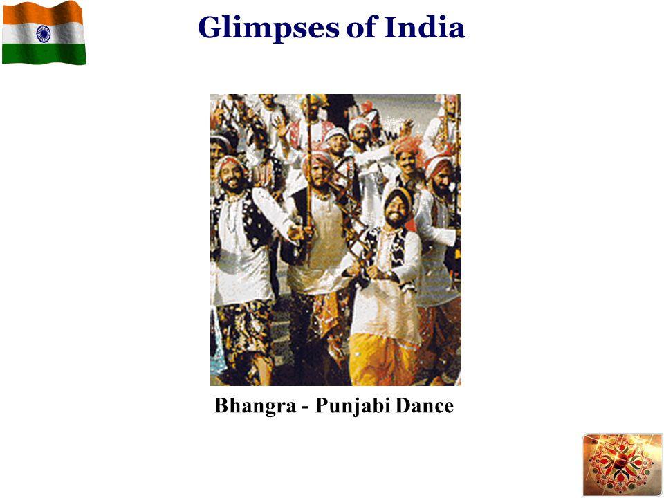 Glimpses of India Bhangra - Punjabi Dance