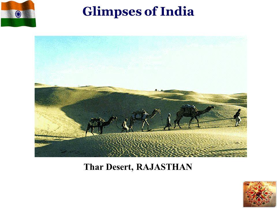 Glimpses of India Thar Desert, RAJASTHAN